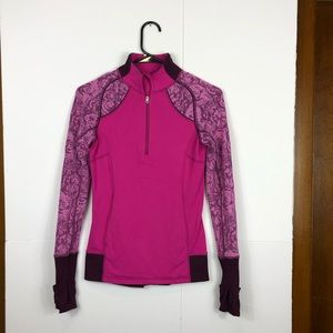3/$30 Ivivva 1/4 Zip Long Sleeve Workout Top Sz XS